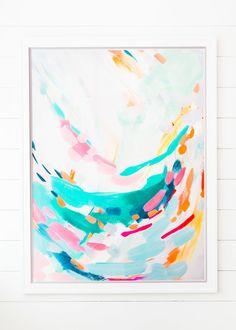 Britt Bass Turner, Swoop: http://www.stylemepretty.com/living/2015/07/14/the-prettiest-art-to-dress-up-your-walls/