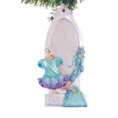 Dance ballerina personalized Christmas ornament by Christmaskeeper, $13.95
