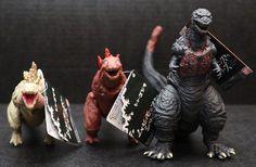 NEW Shin Godzilla Resurgence 2016 Movie Monster Series Second Third Forth Forms