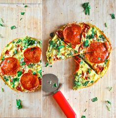 Stovetop Pizza Frittata   31 Of The Most Delicious Things You Can Do To Eggs