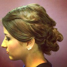 Special occasion bridal UPDO by Alysha @shearlockcombs
