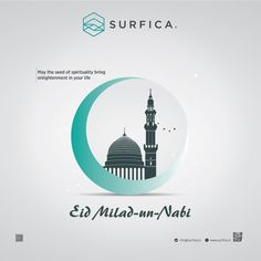 May the seed of spirituality bring enlightenment in your life Id-e-Milad. Eid E Milad, Eid Milad Un Nabi, Eid Mubarak, Your Life, Architects, Spirituality, Bring It On, Luxury, Interior