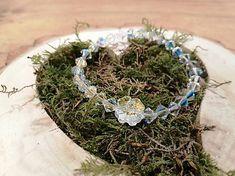 EmonaBracelets / Krištáľový náramok Lucky One Crochet Earrings, Swarovski, Crystals, Bracelets, Jewelry, Jewlery, Jewerly, Schmuck, Crystal