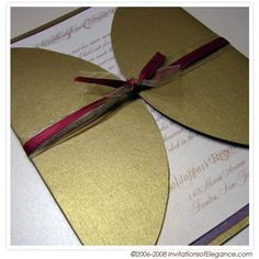 Pictures of  Custom, hand made Luxury Invitations and wedding Stationery