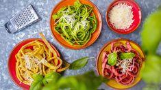 Sen všech dietářek: Dietní těstoviny bez mouky! - Proženy Mozzarella, Pesto, Cabbage, Low Carb, Healthy Recipes, Healthy Food, Vegetables, Ethnic Recipes, Fit