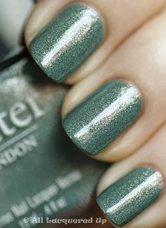 "Butter London - Victoriana  All Butter London nail-polishes are vegan, not tested on animals and ""3-free"" - no formaldehyde, no toluene, no DBP (dibutyl phthalate)"