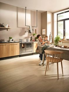 Holzherde - Lohberger Kitchen, Table, Furniture, Home Decor, Transom Windows, Fireplaces, Kitchen Contemporary, Ideas, Cooking