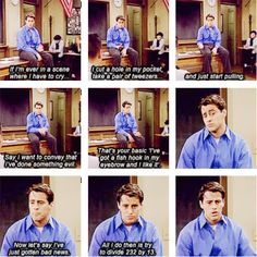 Acting 101 by Joey Tribbiani