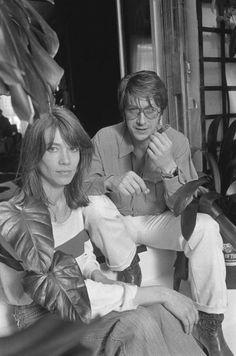 Françoise Hardy and Jacques Dutronc by Jack Garofalo, 1977