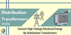 Convert High Voltage Electrical Energy By #Distribution #Transformers
