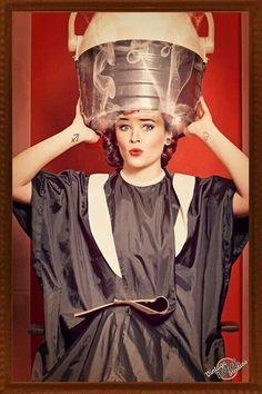 My Favorite Image, Kinky, Pin Up, Feminine, Ruffle Blouse, Lady, Beauty, Beautiful, Women