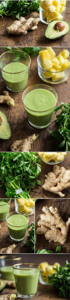 greensmoothiefordigestionvegan   Happy Digestion Smoothie