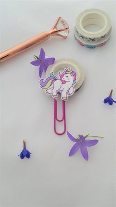 Why not add some fun to your planner with these cute and colourful unicorn planner clips? Not only good for planners and travellers notebooks but also great to use as a bookmark and a perfect way to show off your personality in the office! Unicorn Gifts, Stocking Fillers, Travelers Notebook, Some Fun, Notebooks, Planners, Personality, Gift Ideas, Cute