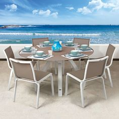 Luis Outdoor Dining Chair. This is one of Mobelli's most popular chairs. The unique curvy design allows for flow whilst the sling ensures you can sit on the chair in comfort for long periods of time.