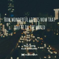 Ellie Goulding-Your Song