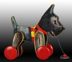 1933 Fisher-Price #710 Scotty Dog Toy