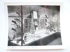 VÝLOHA prodejny BAŤA Žižkov, prosinec 1939 !!! č.1 Store, Prague, Storage, Shop