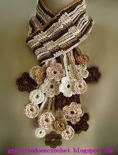 Ideas scarves and accessories for Christmas...Ideas de bufandas y accesorios para estas navidades.