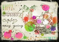 grungy easter greetings | Flickr - Photo Sharing!