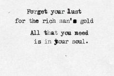 Simple Man lyrics tattoo idea