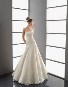 ランディブライダル ウェディングドレス Aライン ビスチェ コートトレーン サイズオーダー 挙式 ブライダル 結婚式 021173034001