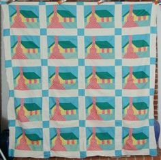 Honeymoon Cottage quilt
