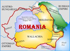 Romania Historical genealogy page. Romania Facts, Romania Map, Volga Germans, Constanta Romania, Visual Map, Horn Of Africa, My Family History, Artist Studios, Central Europe
