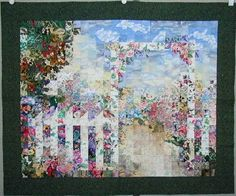Garden Gate. This quilt was bought by a good friend.