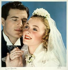 Surprising Marriage Advice from a Happily Married Couple. 1940s Wedding, Vintage Wedding Photos, Vintage Bridal, Vintage Weddings, Wedding Pictures, June Bride, Wedding Gifts For Bride, Wedding Bells, Wedding Stuff