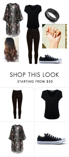 """Tyler Joseph Inspired Outfit."" by katrinaevans-i ❤ liked on Polyvore featuring Lee, Alexander Wang, Converse and Kobelli"
