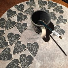 Creating beautiful brooches for Mother's Day Brooches, Mothers, Crafty, Black And White, Beautiful, Design, Brooch, Black N White, Black White