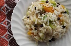 Gluten-Free Apricot and Currant Rice