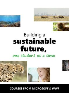 If you're looking to develop school-wide sustainability curriculum, this is the perfect starting point. Developed in partnership with WWF, these courses will empower your students to make a difference in the 🌎 around them.