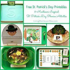 St Patricks Day Montessori Inspired Activities