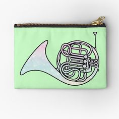 Pastel Galaxy, French Horn, Galaxy Print, Makeup Bags, Canvas Prints, Art Prints, Zipper Pouch, Horns, Zip Around Wallet
