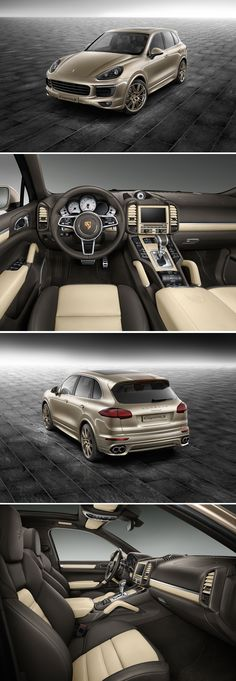 The appearance of the new Cayenne is unmistakably Porsche. Underlining its elegance and individuality: numerous personalisation options by Porsche Exclusive.   *Combined fuel consumption in accordance with EU 5: Cayenne models 9.8-9.5 l/100 km, CO2 emissions 229-223 g/km.