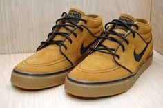 Nike SB Stefan Janoski Mid Wheat / Black Gum Light Brown  £61.95