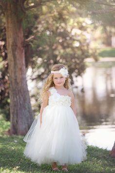 Ivory Flower Girl Dress - Ivory Tutu Dress - Mini Bridesmaid by TrendyBambini on Etsy https://www.etsy.com/listing/173343455/ivory-flower-girl-dress-ivory-tutu-dress