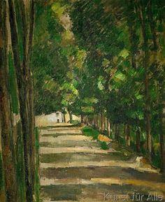 Paul Cézanne - L'Allée