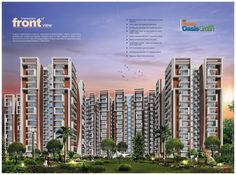 Magnum  Oasis Green 2, 3 & 4 BHK LUXURIOUS APARTMENTS TRONICA CITY, GHAZIABAD