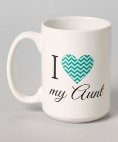 Look at this 'I Heart My Aunt' El Grande Mug on #zulily today!