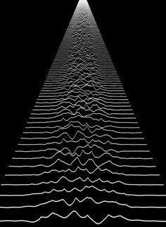 Joy Division's Unknown Pleasures Album Art Lives