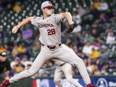 Dane Acker pitched OU's first nine-inning no-hitter since 1989 and Justin Mitchell hit a solo home run to lead off the eighth inning as No. 22 Oklahoma defeated No. Baseball Tips, Baseball Equipment, Hospitals, Lsu, Pitch, Oklahoma, Coaching, Youth, Sunday