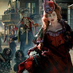 Helena Bonham Carter in 'The Lone Ranger' (2013)