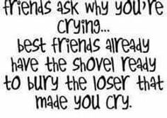 My Best Friend Quotes - sounds like me and my BFF! Bff Quotes, Best Friend Quotes, Family Quotes, Cute Quotes, Great Quotes, Quotes To Live By, Inspirational Quotes, Qoutes, Sister Quotes
