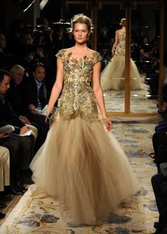Marchesa – Runway – Fall 2012 Mercedes-Benz Fashion Week