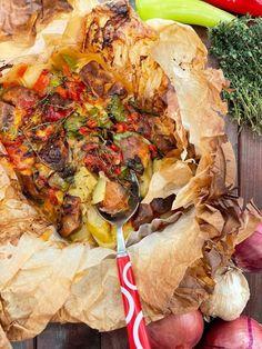 Πέτρος Συρίγος: Χοιρινό εξοχικό στην λαδόκολλα! - Fay's book Pulled Pork, Cheesesteak, Ethnic Recipes, Greek, Food, Shredded Pork, Essen, Meals, Greece
