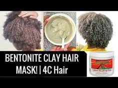 Bentonite Clay Hair Mask [Best Hair Mask for Natural Hair Hair] Bentonite Clay Mask Hair, Clay Hair Mask, Best Hair Mask, Natural Hair Mask, Clay Masks, Natural Curls, Natural Hair Styles, Indian Healing Clay Mask, Vinegar For Hair