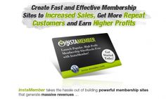 InstaMember Launch High-Profit Membership  WebSites Almost Instantly - http://allsuper.info/news/instamember-launch-high-profit-membership-websites-almost-instantly/