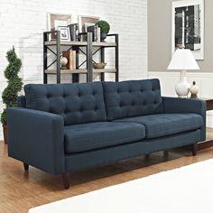 $678 Modway Empress Sofa   AllModern